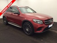 USED 2018 68 MERCEDES-BENZ GLC-CLASS 2.1 GLC 220 D 4MATIC AMG LINE 5d AUTO 168 BHP *GREAT SPEC*