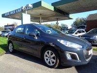 2012 PEUGEOT 308 1.6 HDI SR 5d 92 BHP  **SAT NAV** £3995.00