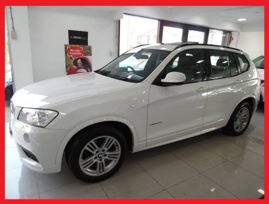 USED 2012 12 BMW X3 3.0 30D M SPORT XDRIVE 5DR 2012   PANROOF, SAT NAV, HEATED SEATS