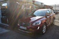 USED 2015 65 VOLVO XC60 2.0 D4 SE LUX 5d 188 BHP ONE ONWER FROM NEW - 4 STAMPS TO 63K - FULL LEATHER SEATS - POWERBOOT - 18 INCH ALLOYS