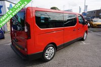 USED 2017 17 RENAULT TRAFIC 2.9T 1.6 LL29 ENERGY DCI 125 BHP SPORT BUS 9 SEAT ( NO VAT !! ) 2017 , EURO 6 , HIGH SPEC 9 SEATER WITH NO VAT !!