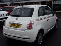 USED 2014 14 FIAT 500 1.2 POP 3d 69 BHP Only 20,000 Miles & £30 Road Tax, Full Service History, 12 Mths Mot, Low Insurance Group !!!