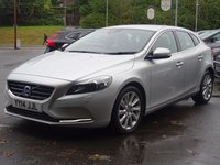 USED 2014 14 VOLVO V40 1.6 D2 SE LUX 5d 113 BHP Leather,DAB,Cruise,Media