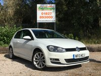 USED 2013 13 VOLKSWAGEN GOLF 2.0 GT TDI BLUEMOTION TECHNOLOGY 3dr Great Spec, Sat Nav, £20 Tax