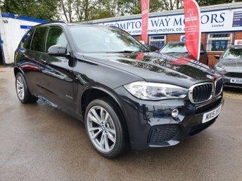 2015 BMW X5 3.0 XDRIVE30D M SPORT 5d 255 BHP £25000.00
