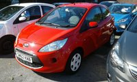 USED 2012 62 FORD KA 1.2 EDGE 3d 69 BHP visit our website to see more fords and fantastic prices