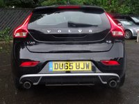 USED 2015 65 VOLVO V40 2.0 T2 R-DESIGN 5d 120 BHP Leather&Suede,Media,DAB