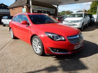 USED 2013 63 VAUXHALL INSIGNIA 2.0 ELITE CDTI ECOFLEX S/S 5d 138 BHP ONE OWNER,FULL HISTORY,TWO KEYS,HEATED SEATS,LEATHER