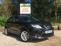 USED 2015 65 NISSAN QASHQAI 1.2 ACENTA DIG-T 5dr Great Spec, 6 Month Warranty