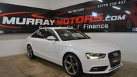 USED 2014 AUDI A4 2.0 TDI SE TECHNIK 4DOOR 134 BHP *SAT NAV*