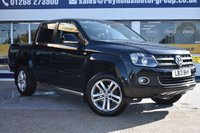 USED 2013 13 VOLKSWAGEN AMAROK 2.0 DC TDI HIGHLINE 4MOTION 1d 180 BHP THE CAR FINANCE SPECIALIST