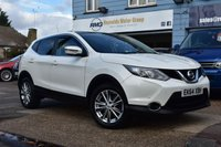 USED 2014 64 NISSAN QASHQAI 1.5 DCI ACENTA PREMIUM 5d 108 BHP COMES WITH 6 MONTHS WARRANTY