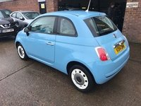 USED 2014 14 FIAT 500 1.2 COLOUR THERAPY 3d 69 BHP