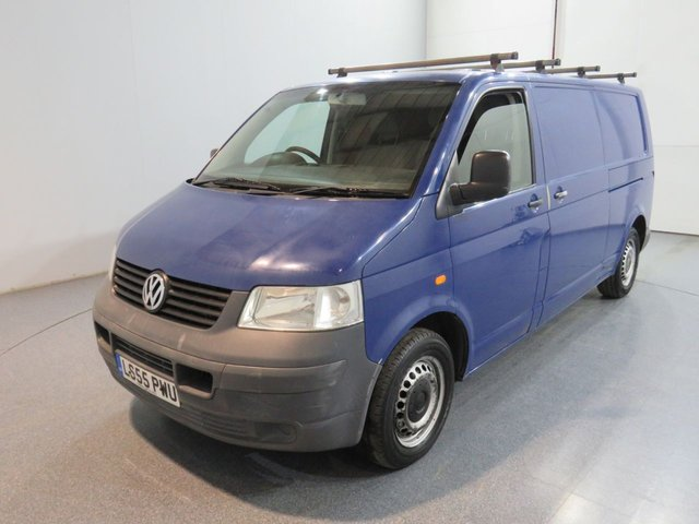 2005 55 VOLKSWAGEN TRANSPORTER 1.9 T30 TDI LWB 103 BHP AIR CON NO VAT AIR CONDITION, REVERSE CAMERA, ROOF RACK FITTED