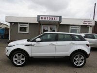 USED 2012 62 LAND ROVER RANGE ROVER EVOQUE 2.2 TD4 PURE TECH 5DR DIESEL  150 BHP