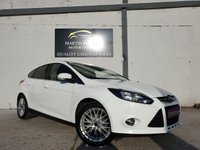 USED 2014 14 FORD FOCUS 1.0 ZETEC 5d 124 BHP