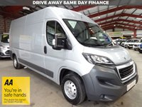 """USED 2016 66 PEUGEOT BOXER 2.0 BLUE HDI 335 L3H2 PROFESSIONAL P/V 130 BHP VAN """"YOU'RE IN SAFE HANDS"""" - AA DEALER PROMISE"""