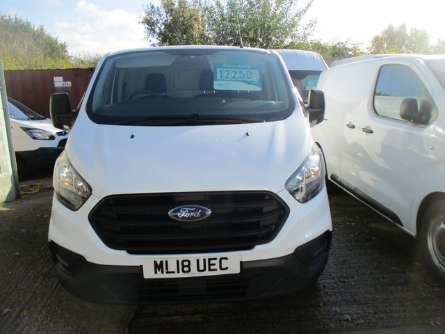 2018 18 FORD TRANSIT CUSTOM 2.0 300  L1 H1 105 BHP NEW SHAPE 300 turbo diesel