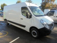 USED 2016 16 RENAULT MASTER 2.3 DCI LM35 BUSINESS LONG WHEEL BASE SEMI HIGH ROOF 125 BHP ELECTRIC PACK, PREMIER VAN SALES STOCKPORT  RENAULT MASTER BUSINESS LONG WHEEL BASE