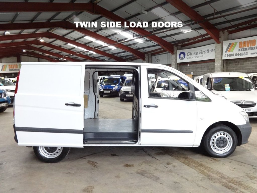 """USED 2012 62 MERCEDES-BENZ VITO 2.1 113 CDI 136 BHP SWB COMPACT VAN - NO VAT TO PAY - """"YOU'RE IN SAFE HANDS"""" - AA DEALER PROMISE"""