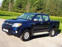 2009 TOYOTA HI-LUX 3.0 4X4 D-4D D/C AUTO 169 BHP £SOLD