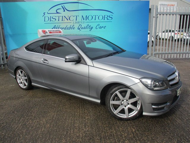 USED 2012 12 MERCEDES-BENZ C CLASS 2.1 C250 CDI BLUEEFFICIENCY AMG SPORT 2d AUTO 204 BHP