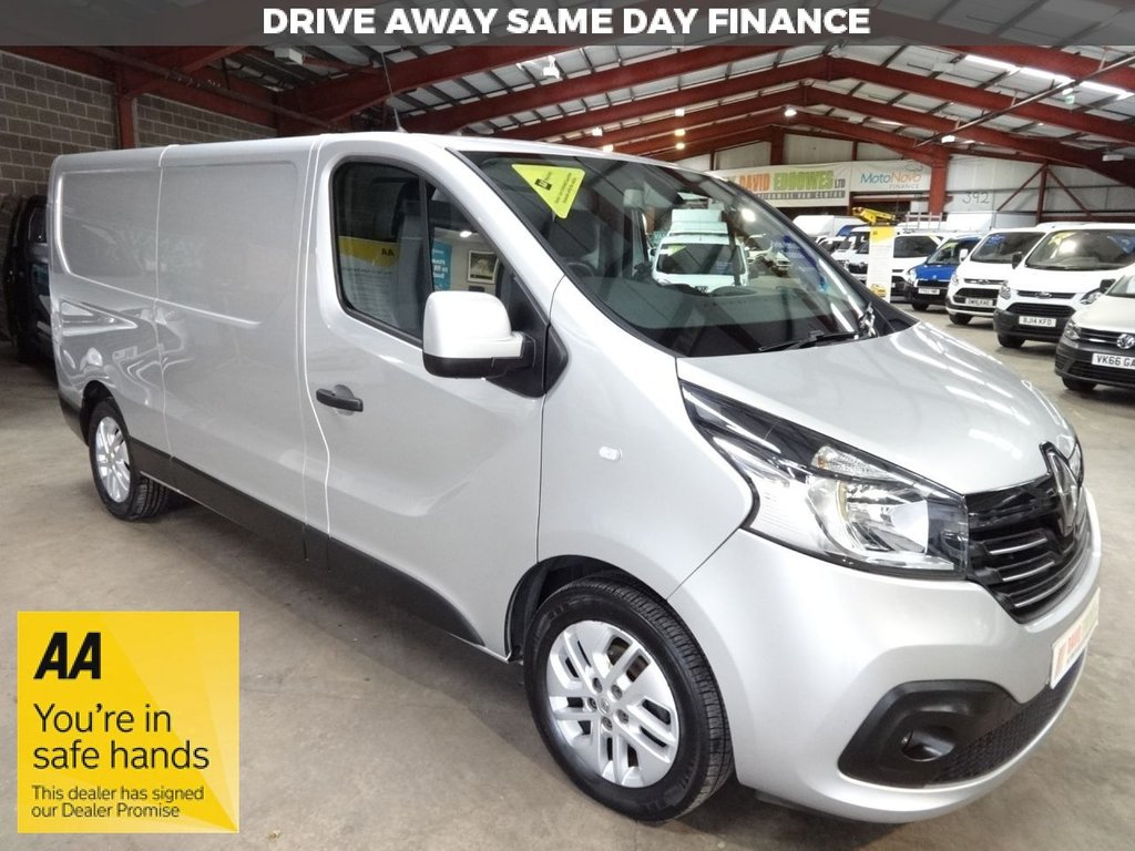 USED 2016 66 RENAULT TRAFIC 1.6 LL29 SPORT ENERGY DCI S/R P/V 120 BHP LWB VAN AA DEALER WARRANTY PROMISE - TRADING STANDARDS APPROVED