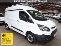 "USED 2015 15 FORD TRANSIT CUSTOM 2.2 310 LR P/V L2H2 LWB HI ROOF VAN WITH RACKING / SHELVING ""YOU'RE IN SAFE HANDS"" - AA DEALER PROMISE"
