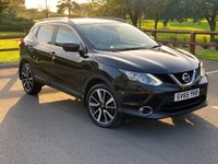 USED 2015 65 NISSAN QASHQAI 1.5 DCI TEKNA 5d 108 BHP FULL LEATHER, HEATED SEATS, PANORAMIC ROOF, REVERSE CAMERA, SAT NAV & MEDIA CONNECTIVITY, DUAL CLIMATE CONTROL & MORE