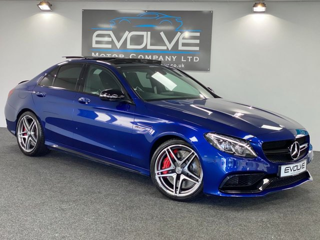 USED 2016 16 MERCEDES-BENZ C CLASS 4.0 AMG C 63 S PREMIUM 4d AUTO 503 BHP FULLY LOADED, FULL HISTORY!