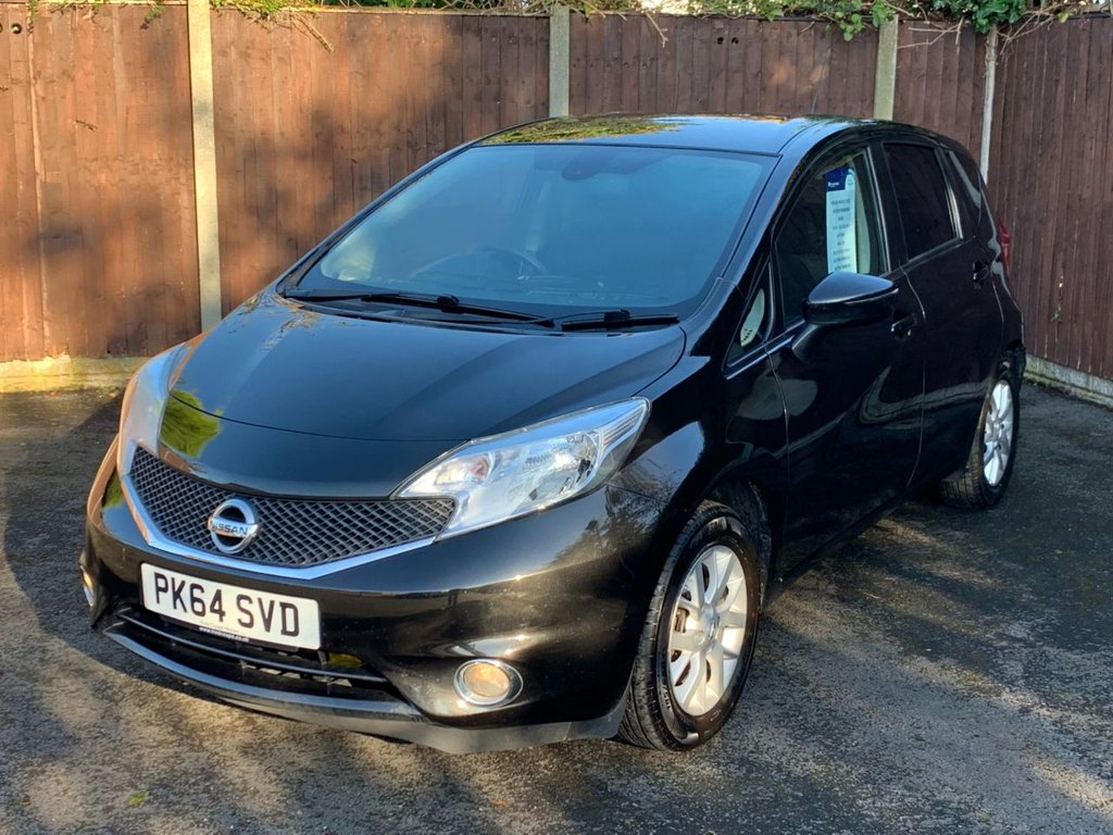 USED 2014 64 NISSAN NOTE 1.5 DCI ACENTA PREMIUM 5d 90 BHP ZERO A YEAR ROAD TAX, SATELLITE NAVIGATION, BLUETOOTH, AIR CON, 1 OWNER WITH FSH, ...60 to 70 MPG