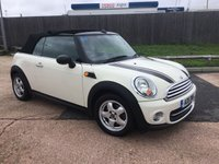 2011 MINI CONVERTIBLE 1.6 ONE 2d 98 BHP £4695.00