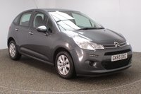 USED 2015 65 CITROEN C3 1.2 VTR PLUS 5DR 80 BHP FULL SERVICE HISTORY + £20 12 MONTHS ROAD TAX + BLUETOOTH + CRUISE CONTROL + AIR CONDITIONING + RADIO/CD/AUX/USB + ELECTRIC WINDOWS + ELECTRIC MIRRORS + 15 INCH ALLOY WHEELS