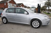 USED 2008 08 VOLKSWAGEN GOLF 1.9 BLUEMOTION MATCH TDI 5d 103 BHP