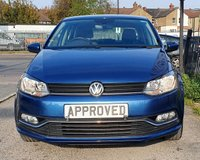 USED 2016 16 VOLKSWAGEN POLO 1.2 SE TSI 5d 89 BHP BLUETOOTH AUX AND USB CONNECT!