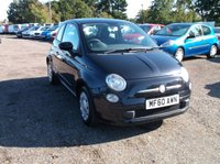 "USED 2010 60 FIAT 500 1.2 POP 3d 69 BHP CAT ""C"" Fiat 500, Drives Very Well, Economical and Cheap to Tax!"