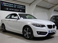 USED 2016 66 BMW 2 SERIES 1.5 218I SPORT 2d 134 BHP
