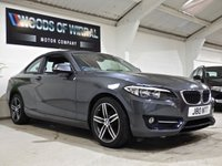 USED 2017 17 BMW 2 SERIES 2.0 218D SPORT 2d 148 BHP