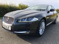 2015 JAGUAR XF 2.2 D LUXURY 4d AUTO 200 BHP £10995.00