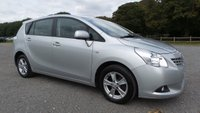 USED 2010 10 TOYOTA VERSO 2.0 TR D-4D 5d 125 BHP 2 X KEYS, AIR-CONDITIONING, ALLOYS, CD-PLAYER, REMOTE LOCKING, ELECTRIC WINDOWS, ELECTRIC MIRRORS, METALLIC PAINT, SUPERB MPG, CLEAN EXAMPLE, NATION WIDE DELIVERY, SAME DAY FINANCE