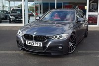 2014 BMW 3 SERIES 2.0 320I XDRIVE M SPORT TOURING 5d 181 BHP £14490.00