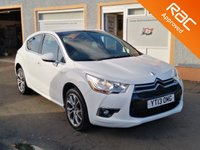 """USED 2013 13 CITROEN DS4 1.6 HDI DSTYLE 5d 110 BHP Rear Parking Sensors, Cruise Control, 18"""" Alloys"""