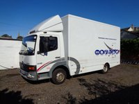 2002 MERCEDES-BENZ ATEGO 4.3 815 DAY 150 BHP £2399.00