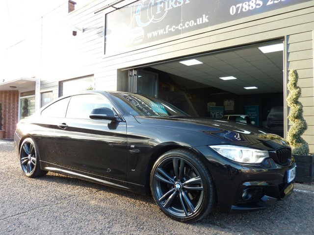 2014 14 BMW 4 SERIES 2.0 420D M SPORT 2d AUTO 181 BHP