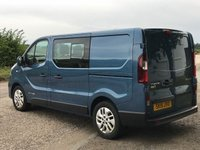 USED 2015 15 RENAULT TRAFIC 1.6 SL27 SPORT ENERGY DCI  DOUBLE-CAB 140 BHP