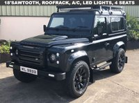 USED 2015 64 LAND ROVER DEFENDER 90 2.2 TD XS STATION WAGON 3d 122 BHP 18' Sawtooth, Leather, 4 Seats