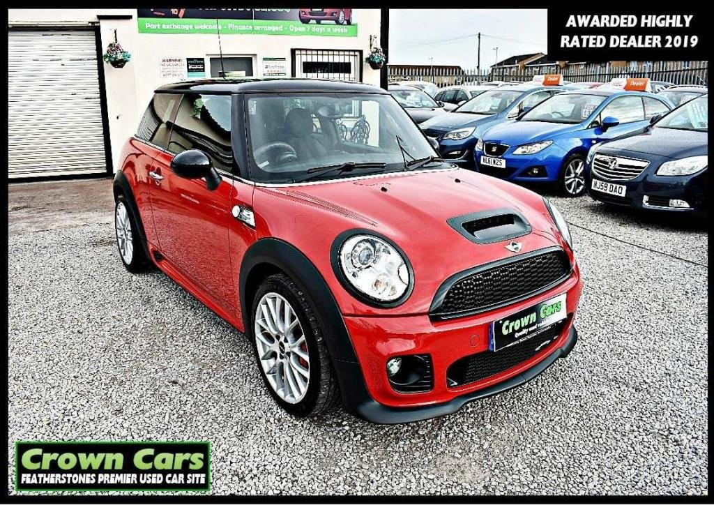 USED 2009 09 MINI HATCH JOHN COOPER WORKS 1.6 John Cooper Works 3dr 3 MONTHS WARRANTY & PDI CHECKS