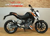 USED 2015 15 KTM 200 Duke A2 COMPLIANT 200CC ROADSTER, VERY LOW MILES