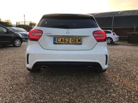 USED 2013 62 MERCEDES-BENZ A CLASS 2.0 A250 BlueEFFICIENCY AMG 7G-DCT 5dr (ENG) Full Leather & Sat Nav