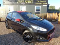2015 FORD FIESTA 1.0 T EcoBoost Zetec S Black Edition (s/s) 3dr £7795.00